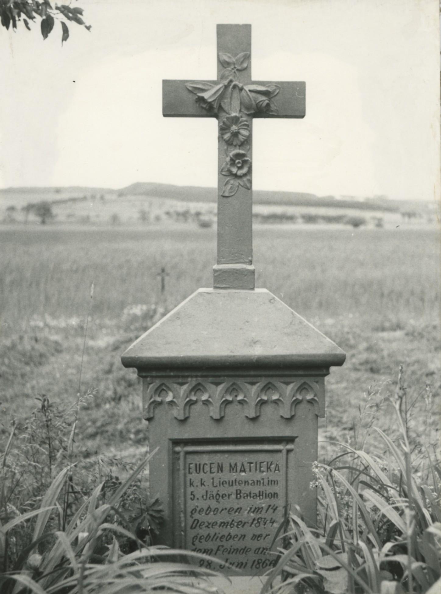 Rakouský poručík Eugen Matieka