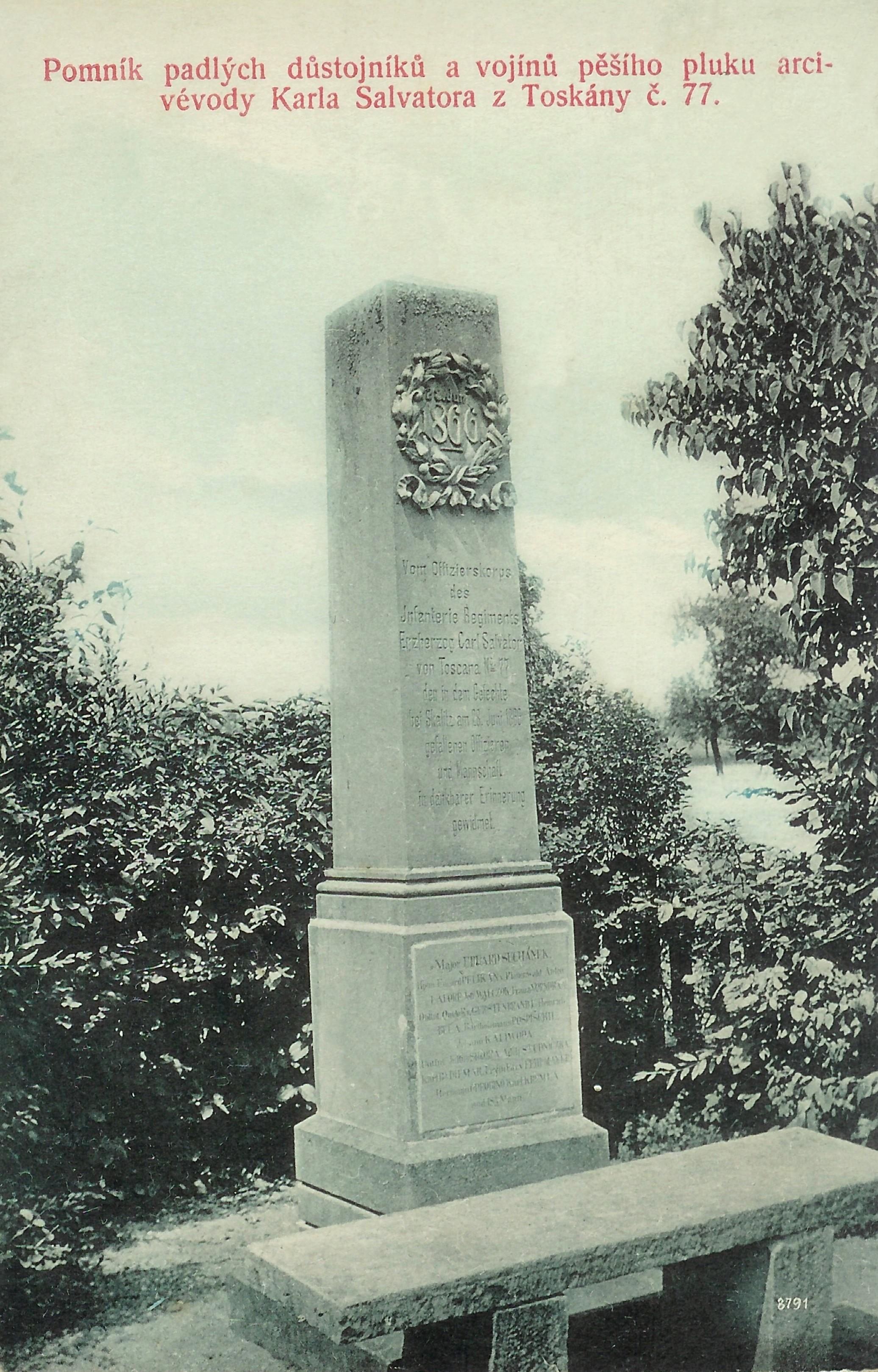 Pomník rakouského pěšího pluku č. 77