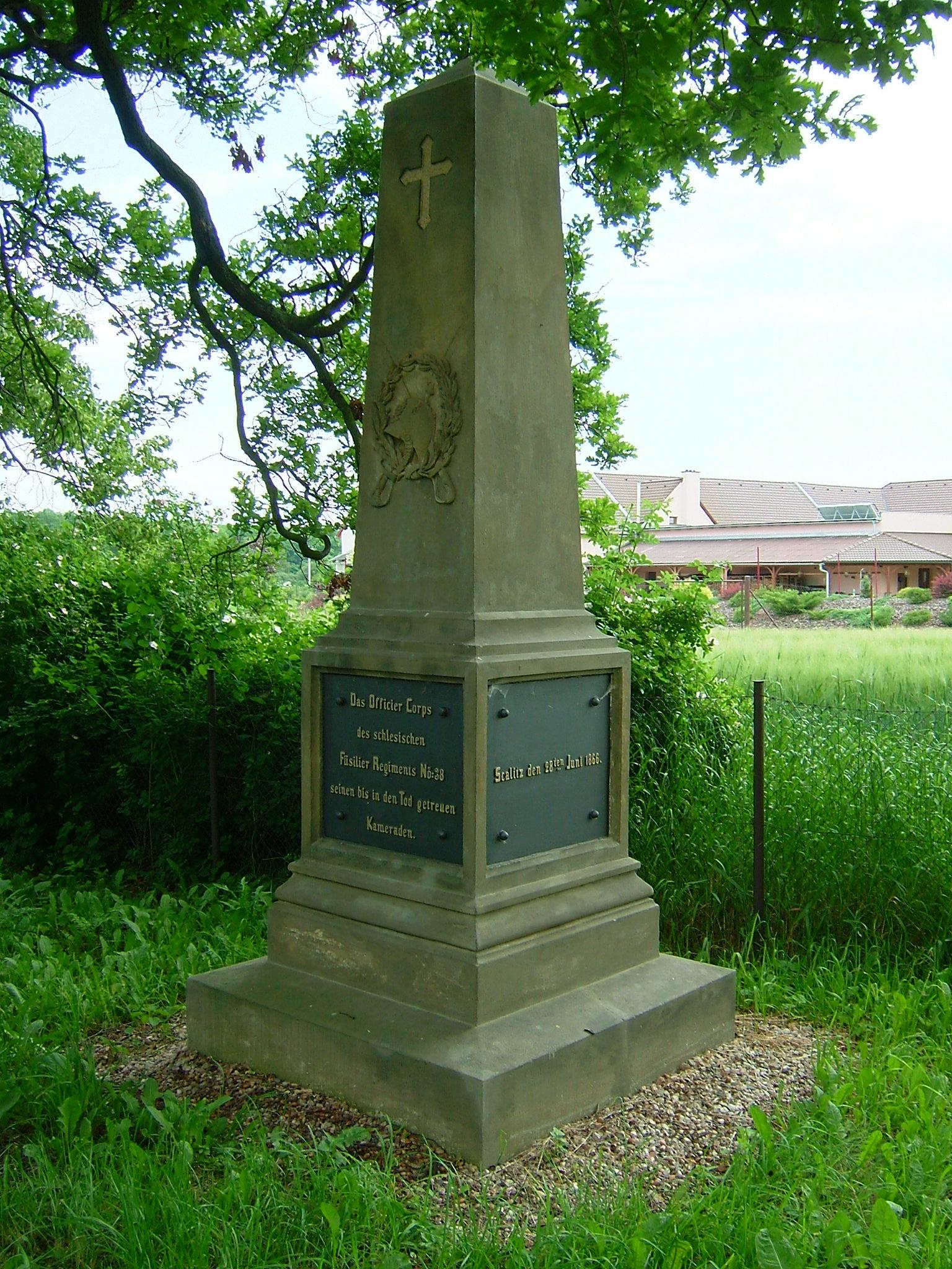Pomník pruského fyzilírského pluku č. 38