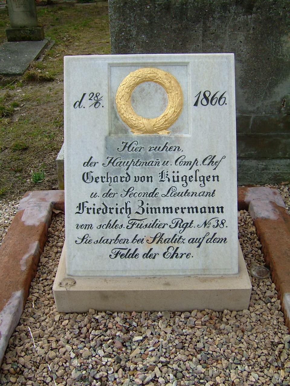Hrob pruských důstojníků