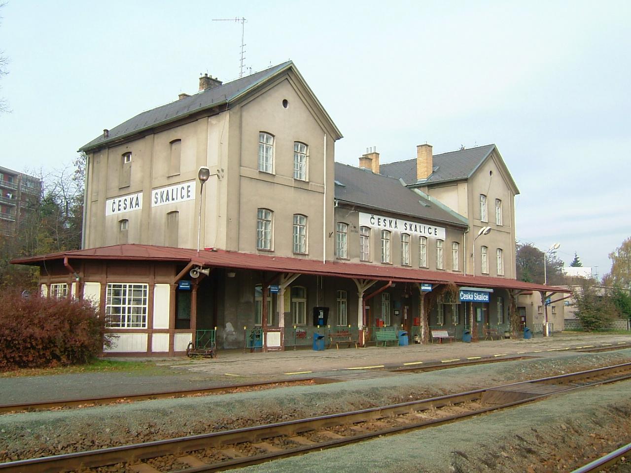 vlakové nádraží před rekonstrukcí